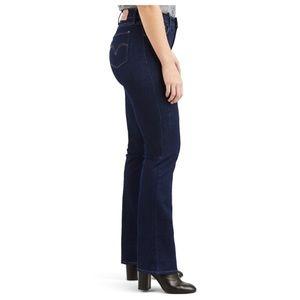 Levi's Curvy Bootcut Mid Rise Jeans 6 Medium 28x30